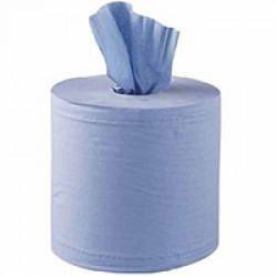 PP48 Blue Paper Forecourt Roll