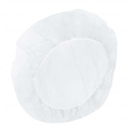Bouffant Cap 61cm in bag white ref 114 (100)