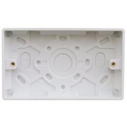 2G Twin surface box 25mm