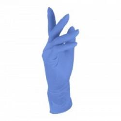 Nitrile Gloves 240mm latex free large 1286L Blue (100)