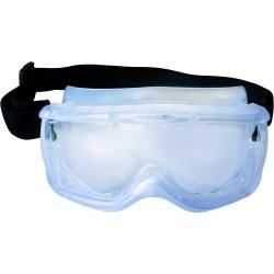 Full view goggle antifog polycarbonate lens  ref K216