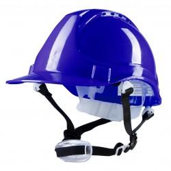 Polstar Helmet ABS 4 Point YS-4 Chin Strap blue