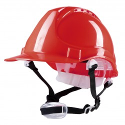 Polstar Helmet ABS 4 Point YS-4 Chin Strap Red