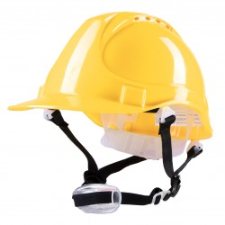 Polstar Helmet ABS 4 Point YS-4 Chin Strap Yellow