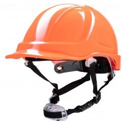 Polstar Helmet ABS 4 Point Knob YS-7 Chin Strap Orange