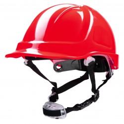 Polstar Helmet ABS 4 Point Knob YS-7 Chin Strap Red