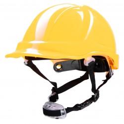 Polstar Helmet ABS 4 Point Knob YS-7 Chin Strap Yellow