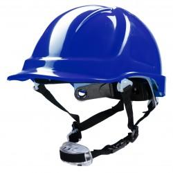 Polstar Helmet ABS 4 Point Knob YS-7 Chin Strap Blue