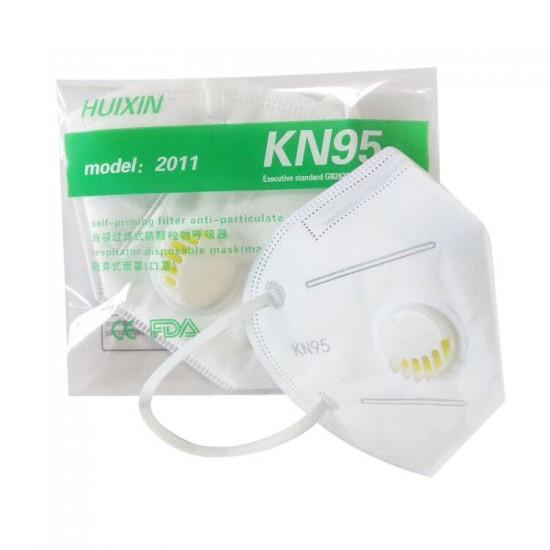 KN95 Face Mask + Valve