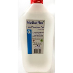 Medicaplus 60% Alcohol hand Sanitiser 5Ltr forest fruit