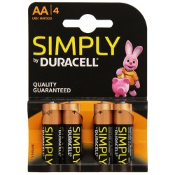 Duracell AA MN1500 Battery 4pack