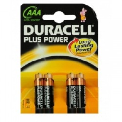 Duracell AAA MN2400 Battery 4pack